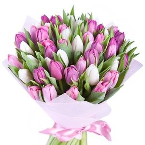Роскошь тюльпанов цветы и букеты с доставкой по Горловке