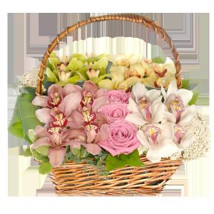 Цветочный коктель цветы и букеты с доставкой по Горловке