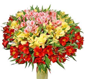 Самоцветы цветы и букеты с доставкой по Горловке