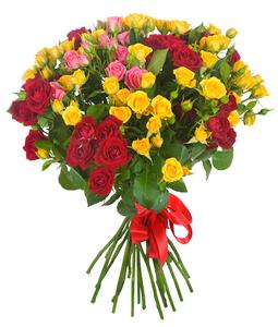 Микс цветы и букеты с доставкой по Горловке