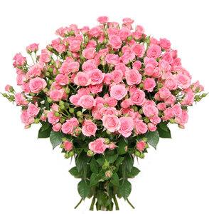 Розовое настроение цветы и букеты с доставкой по Горловке
