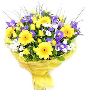 В лучах солнца цветы и букеты с доставкой по Горловке