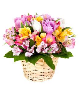 Радужное настроение цветы и букеты с доставкой по Горловке