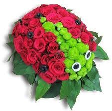 Божья коровка цветы и букеты с доставкой по Горловке